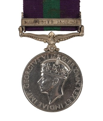 Lot 40-General Service Medal -  Private J. Power, Foresters