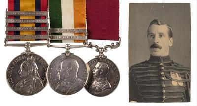 Lot 17 - Boer War. A group of medals - Gunner F.C. Heming, Royal Horse Artillery