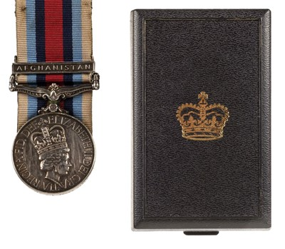 Lot 43 - Operational Service Medal 2000. Afghanistan - Rifle Volunteers