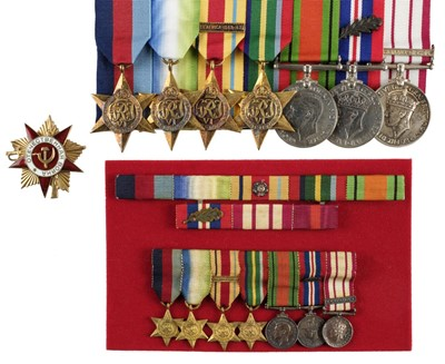 Lot 34-WWII Naval group of medals - Lt. Cdr C.A. Langton