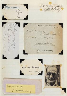 Lot 619 - Autographs miscellany. A group of 3 autograph scrapbooks
