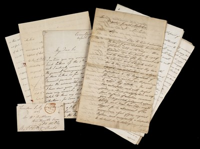 Lot 165 - Minto (Earl of). Memorandum to Sir John Malcolm, 1808, & other Indian letters