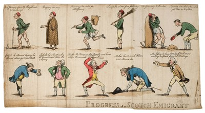 Lot 335 - Cartoons & caricatures. A mixed collection of approximately 100 caricatures, mostly 19th century