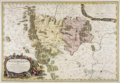 Lot 88 - Poland. Homann (J. B.), Principatus Silesiae Munsterbergensis..., 1736
