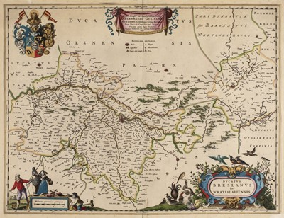Lot 83 - Poland. Blaeu (Johannes), Ducatus Breslanus sive Wratislaviensis, Amsterdam, circa 1663
