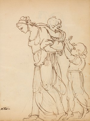 Lot 368-Ottley (William Young, 1771-1836; attributed). Sketchbook, [1791-99]