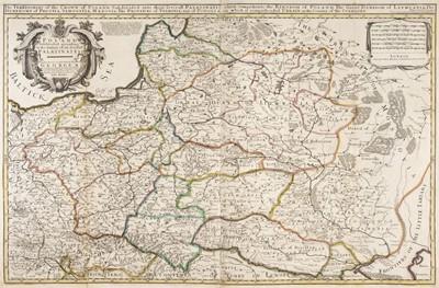 Lot 84 - Poland. Bowles (John), Poland Subdivided according to the extent of its Severall Palatinates, 1744