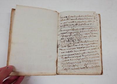 Lot 363 - Landi (Alfonso, fl.1655). Racconto di pitture nel duomo di Siena, 1655, Italian manuscript
