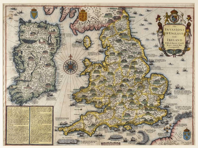 Lot 14-British Isles. Speed (John), The Invasions of England and Ireland..., circa 1627