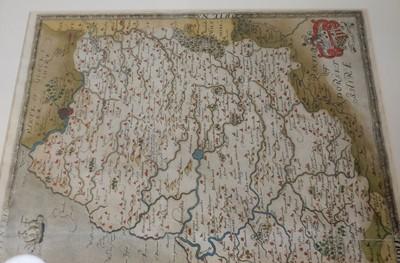 Lot 117 - Somerset. Saxton (Christopher), Somersetensem.., 1579