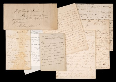Lot 6 - Auckland (George Eden, Earl). Autograph letter signed, 1814, & other military letters