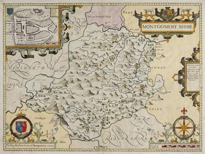 Lot 64 - Montgomeryshire. Speed (John), Montgomery Shire, circa 1676
