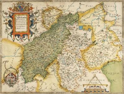 Lot 66 - Northamptonshire & Surrounding Counties. Saxton (Christopher), Northamton, Bedfordiae..., 1579