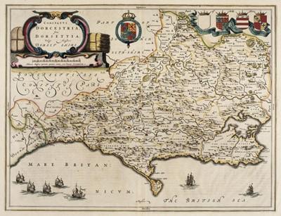 Lot 26 - Dorset. Blaeu (Johannes), Comitatus Dorcestria sive Dorsettia; vulgo Anglice Dorset Shire, 1660