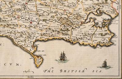 Lot 26-Dorset. Blaeu (Johannes), Comitatus Dorcestria sive Dorsettia; vulgo Anglice Dorset Shire, 1660