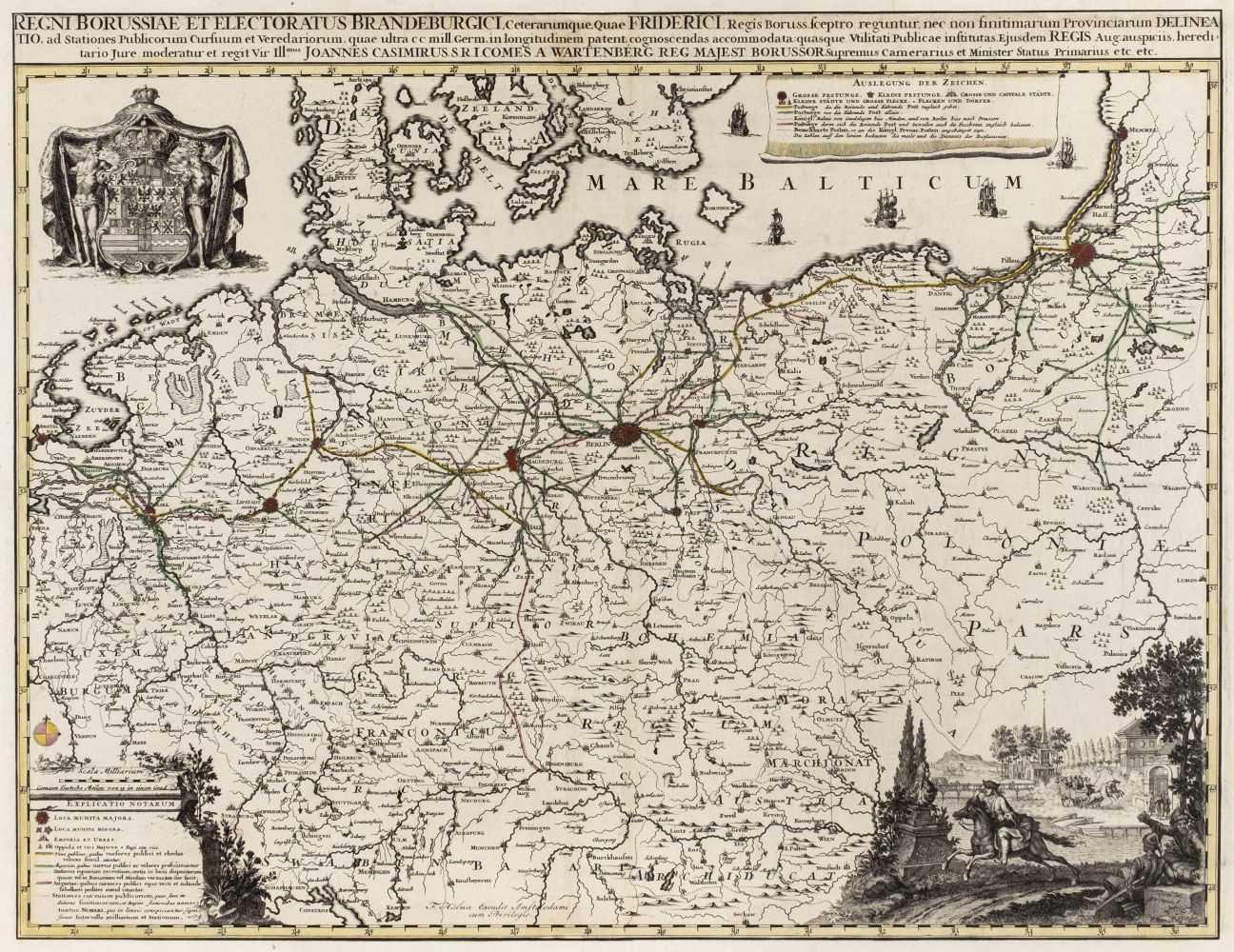 Lot 42 - Germany/Prussia. Halma (Francois), Regni Borussiae et Electoratus Brandeburgici.., circa 1700