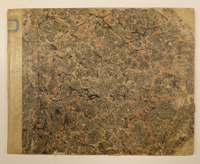 Lot 157 - Italy. Album of architectural studies and designs, c.1812-27, & 3 other items