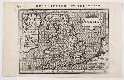 Lot 11-British Isles. Mercator (Gerard), Tab. I. Europae Continens Albion Britanniam et Hiberniam, 1690