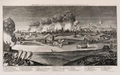 Lot 39 - Gdansk/Danzig.  De Fer (Nicolas & Danet G.), Plan de Dantzick..., Paris, circa 1734