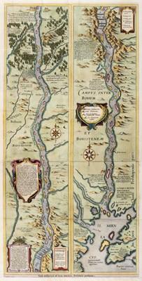 Lot 108 - River Dnieper. Blaeu (W. J.), Campus Inter Bohum Borystenem, Amsterdam, circa 1645