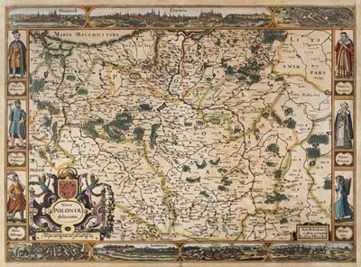 Lot 91 - Poland. Hondius (J.), Nova Poloniae delineatio, Amsterdam, circa 1630