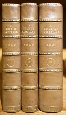 Lot 38 - Pennant (Thomas). A Tour in Scotland, 3 volumes, 1774-6