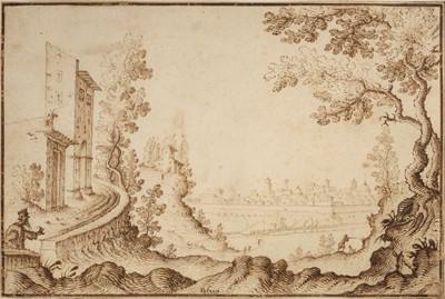 Lot 353-Cantagallina (Remigio, circa 1582-1656). View of Pesaro