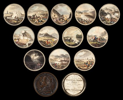 Lot 729 - Orme (Edward). The Battles of the British Army in Portugal, Spain and France, 1815