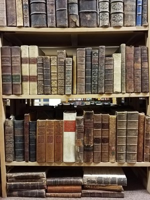 Lot 859 - Antiquarian. A large collection of mostly 19th century literature