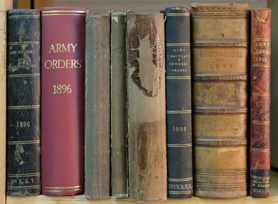 Lot 793 - Army Circulars & General Orders. A collection of 28 volumes, 1883-1900