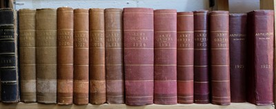 Lot 795 - Army Orders. A collection of 45 volumes, 1901-29, 1936, 1937, 1940-47