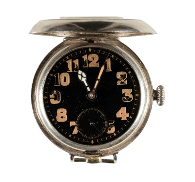 Lot 5-Alcock & Brown. A wristwatch presented to Captain Alcock 17 July 1919