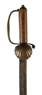 Lot 10 - Sword. An 18th century hanger, c.1700