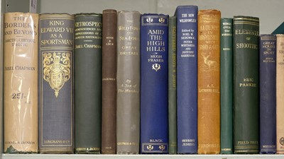 Lot 70 - Chapman (Abel). The Borders and Beyond, 1st edition, 1924, dust jacket, & 29 others, field sports