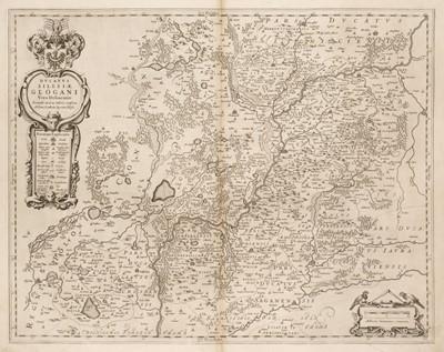 Lot 44 - Poland/Silesia. Blaeu (Johannes), Ducatus Silesiae Glogani vera Delineatio, circa 1640