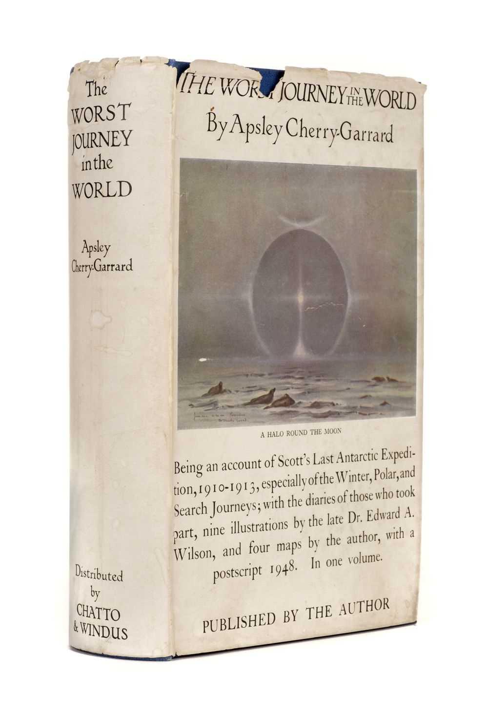 Lot 4 - Cherry-Garrard (Apsley, 1886-1959). The Worst Journey in the World: Antarctic 1910-1913, inscribed