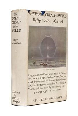Lot 4-Cherry-Garrard (Apsley, 1886-1959). The Worst Journey in the World: Antarctic 1910-1913, inscribed