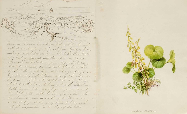 Lot 16 - Bristol. An illustrated manuscript journal, by C.H. Girdlestone, circa 1836