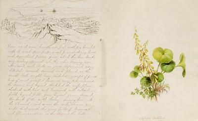 Lot 16-Bristol. An illustrated manuscript journal, by C.H. Girdlestone, circa 1836