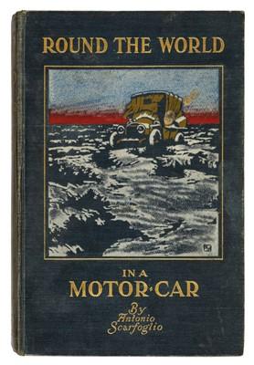 Lot 65 - Scarfoglio (Antonio). Round the World in a Motor-Car, 1st edition, 1909