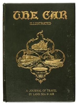 Lot 50 - Car Illustrated, volumes 1-4, 6 & 28, May 28, 1902-May 12, 1909