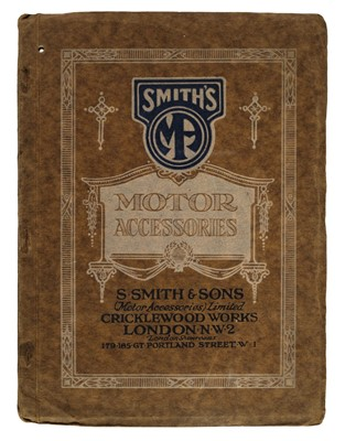 Lot 61 - Motoring Trade Catalogues. A collection of 16 early 20th century trade catalogues