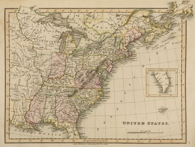 Lot 10-Smith (Charles). Smith's New General Atlas containing Distinct Maps, 1830