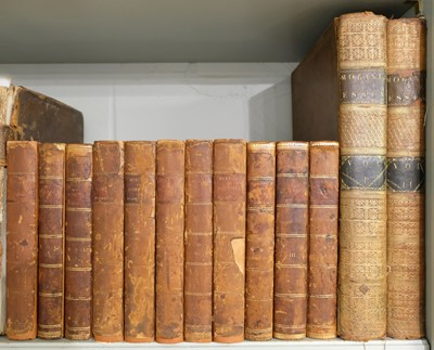 Lot 14-Blomefield (Francis). Topographical History of the County of Norfolk, 11 vols., 1805-10
