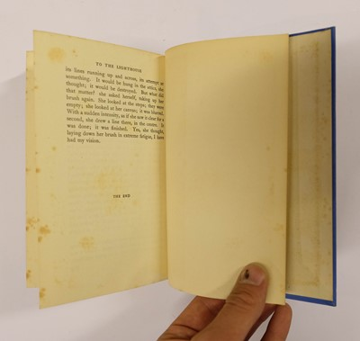 Lot 623 - Woolf (Virginia). To The Lighthouse, 1st edition, 1927