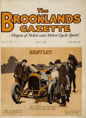 Lot 48-Brooklands Gazette. Organ of Motor and Motor Cycle Sport, 1924-5
