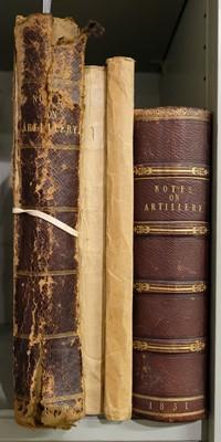 Lot 33-Manuscript. A Practical Course of Artillery, by James Lyons R.M.A., 1851
