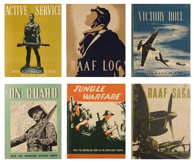 Lot 24-Australian Armed Forces in WW2, 23 volumes, 1941-1950
