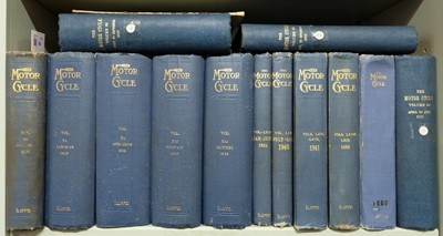 Lot 59 - Motor Cycle. Eleven volumes, 1908-55