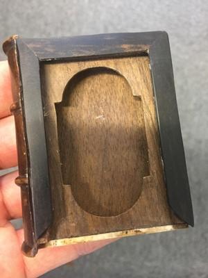 Lot 88-Buchinger (Matthias, 1674-1740). A bookform box with micrography, 1720/21